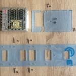 Netzteil, Fingerschutz, Netzteilunterlage, Grundplatte1