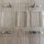Controllerhalterung mit 16mm Schrauben und Muttern